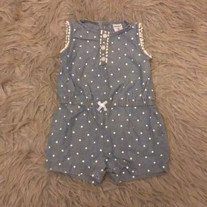 Baby girl romper from Carter's size 6